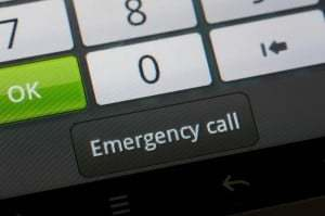 mobile phone contract adverse credit emergency phone call