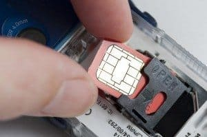 Sim Only Deals Bad Credit inserting card
