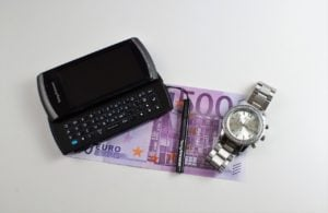 guaranteed phone finance cash mobile watch on desk