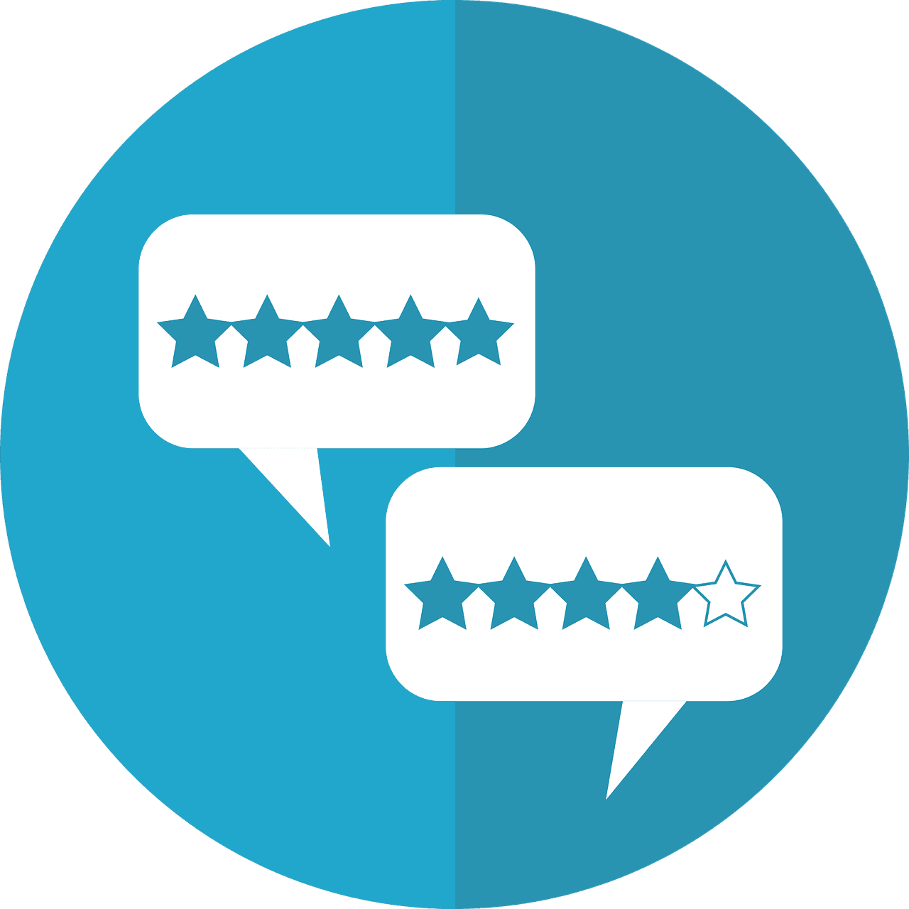 yes mobile phone review star rating symbols