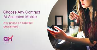 accepted mobile banner guaranteed mobile phone bad credit contracts