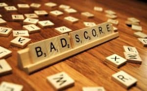 Phone Contracts Bad Credit UK score scrabble