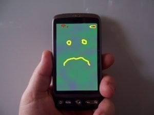 can you get a phone contract with bad credit sad mobile phone face