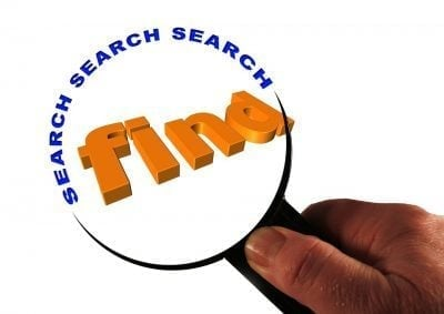 Find Amazing Mobile Phone Deals search to find magnifying glass